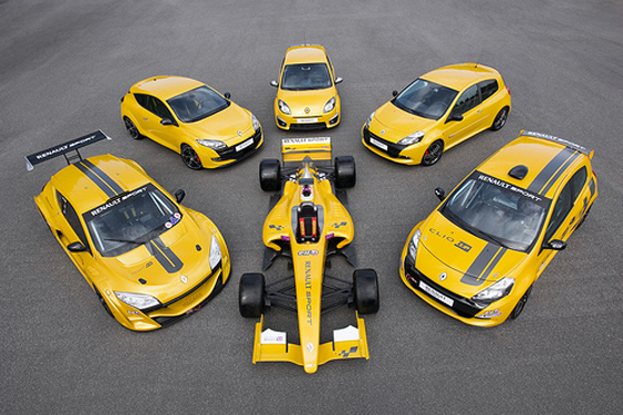 Renault Sport Range
